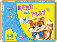 "Обучающие пазлы ""Read and play"""